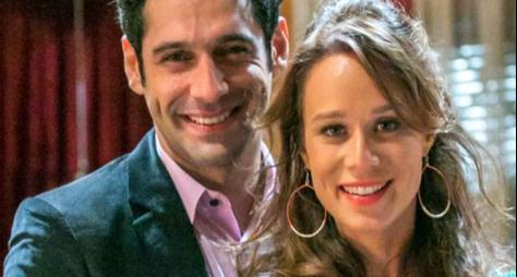 """Mariana Ximenes e João Baldasserini gravam cenas inéditas de """"Haja Coração"""""""
