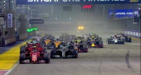 TV Globo negocia a continuidade das transmissões da F1