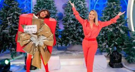 Eliana exibe programa emocionante de Natal com Fernanda Brum e Bruna Karla