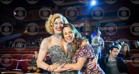 Haja Coração: Tancinha realiza sonho de conhecer Claudia Raia