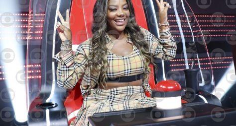 Cheguei! Ludmilla estreia no 'The Voice+'