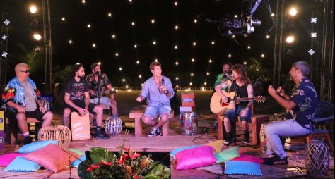 """""""Música na Band Verão"""" estreia nesta sexta-feira com show de Dinho Ouro Preto"""