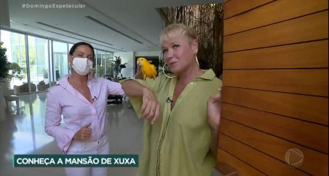 """Com entrevista com Xuxa, """"Domingo Espetacular"""" chega a 13 pontos de audiência"""