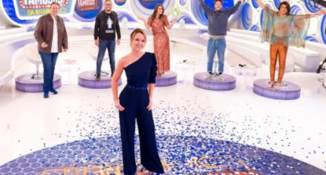 Andréa Sorvetão, Mara Maravilha e Isabele Benito participam do programa Eliana