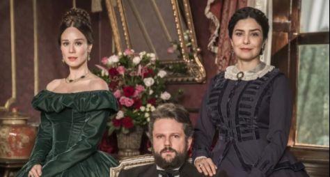 Mariana Ximenes e Leticia Sabatella vivem as duas mulheres da vida de Dom Pedro