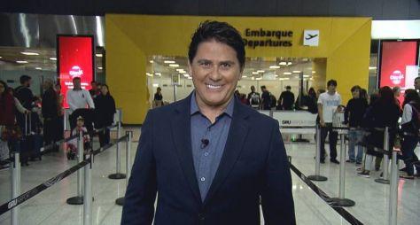Apresentando dois programas, César Filho renova contrato com a Record TV