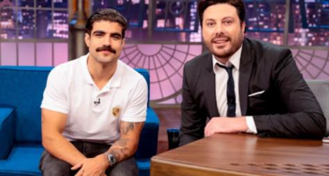 Caio Castro é o entrevistado de Danilo Gentili no The Noite desta quinta (28)
