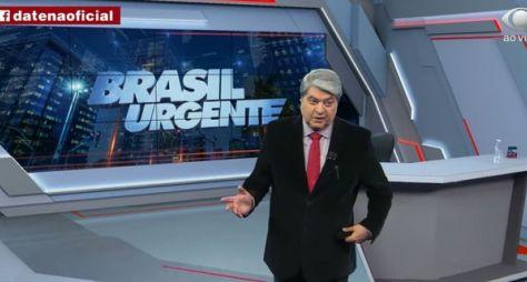 """""""Brasil Urgente"""", com Datena, ameaça as audiências do SBT e Record TV"""