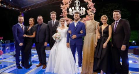 """""""Fábrica de Casamentos"""" realiza sonho antigo de participante"""