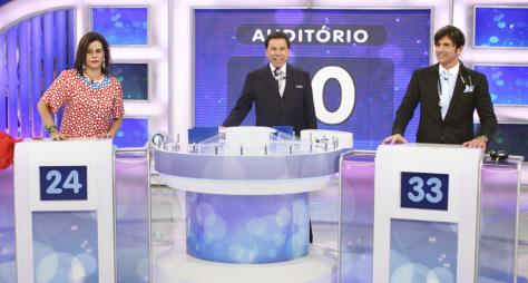 'Programa Silvio Santos' traz disputa entre Narcisa Tamborindeguy e o Dr. Robert