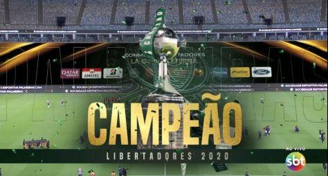 Com jogo do Palmeiras, SBT ultrapassa os 30 pontos de audiência