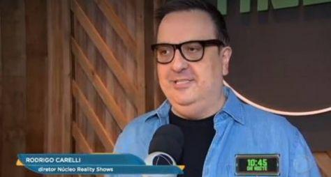 """Rodrigo Carelli quer uma mulher no comando de """"A Fazenda 13"""""""