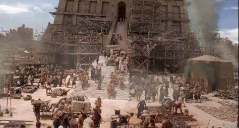 Gênesis: Parte da Torre cai e Gomer some misteriosamente