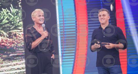 """Xuxa grava """"Visitando o passado"""", do """"Caldeirão do Huck"""""""