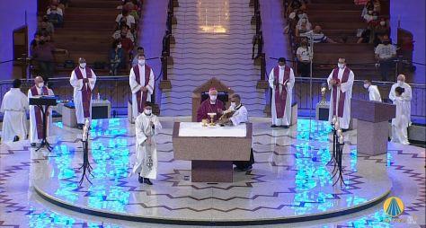 TV Aparecida segue em alta e chega ao 3º lugar com as Missas