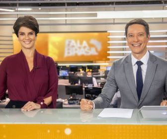 """Mariana Godoy e Sérgio Aguiar assumem a bancada do """"Fala Brasil"""""""
