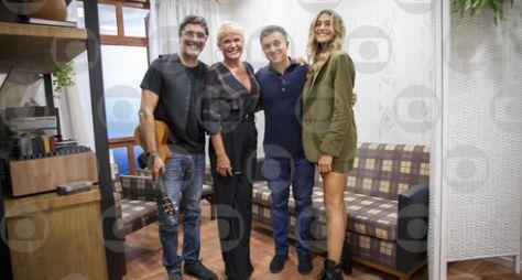 """Xuxa visita o passado neste sábado, no """"Caldeirão do Huck"""""""