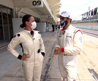 Domingo Espetacular: Caio Castro fala da paixão pelo automobilismo