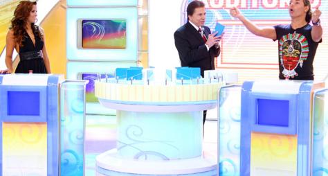 """Programa Silvio Santos"" deste domingo recebe David Brazil e Renata Santos"