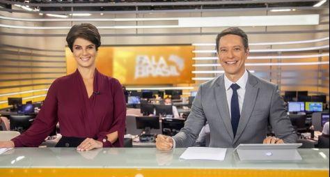 """""""Fala Brasil"""", com novos âncoras, mantém audiência aquém do esperado"""