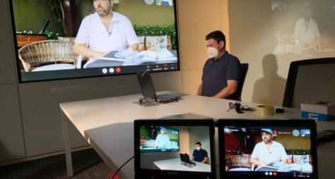 Domingo Espetacular entrevista o sertanejo Edson, recuperado da Covid-19