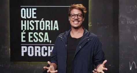 """""""Que História É Essa, Porchat?"""" estreia nova temporada com convidados no estúdio"""