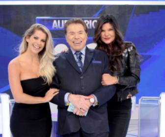 """Karina Bacchi e Cristiana Oliveira são as convidadas do """"Programa Silvio Santos"""""""