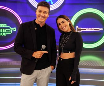"Rodrigo Faro recebe Wanessa Camargo no ""Hora do Faro"""