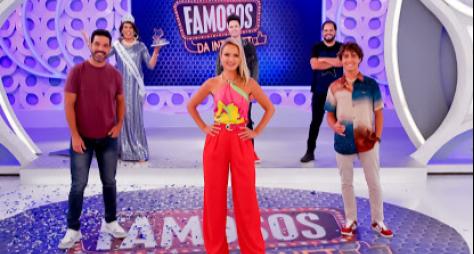 Eliana recebe Igor Jansen, Darlisson Dutra, Enaldinho e Matheus Ceará