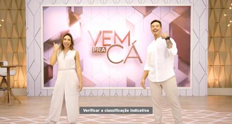 """Silvio Santos muda o horário do programa """"Vem Prá Cá"""""""