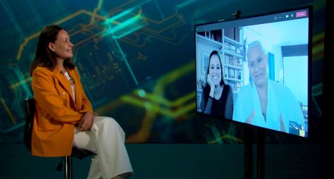 Fafá de Belém conversa com Carolina Ferraz no Domingo Espetacular