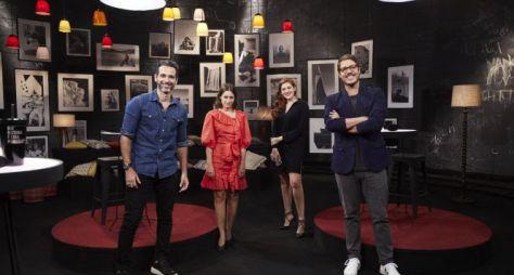 Fábio Porchat recebe Ana Clara, Mouhamed Harfouch e Luisa Arraes