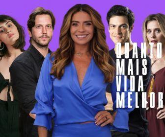 """TV Globo retoma as gravações em externas de """"Quanto Mais Vida Melhor"""""""