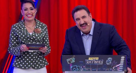 """""""Programa do Ratinho"""" recebe Joelma, Lola Melnyck e os humoristas C1 e C2"""