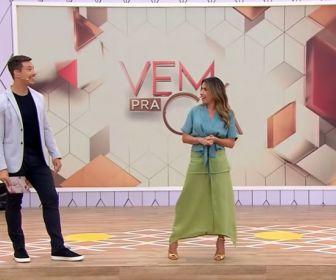 """SBT cogita mudar novamente o horário de exibição do """"Vem Prá Cá"""""""