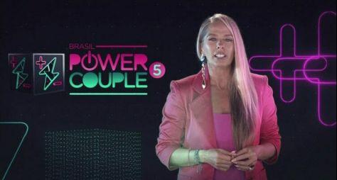 """Record TV está satisfeita com desempenho de Adriane Galisteu no """"Power Couple"""""""