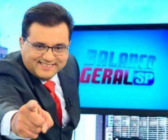 """Record TV escala Geraldo Luís para o """"Balanço Geral Manhã"""""""