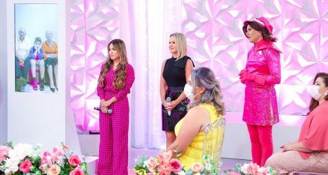 Inédito: Eliana e Gabriela Rocha fazem surpresa para Tia Taty