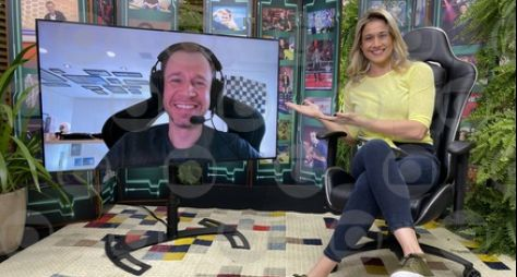 """Tiago Leifert é destaque do """"Se Joga"""", em um papo com Fernanda Gentil sobre BBB"""