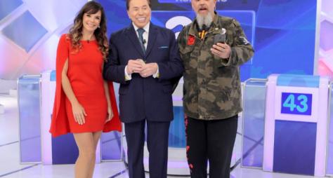 Mylla Christie e João Gordo estarão no Programa Silvio Santos deste domingo