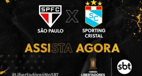 Último jogo da fase de grupos da Libertadores garante vice-liderança ao SBT