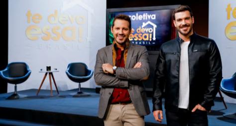 """SBT e Discovery lançam oficialmente """"Te Devo Essa! Brasil"""""""