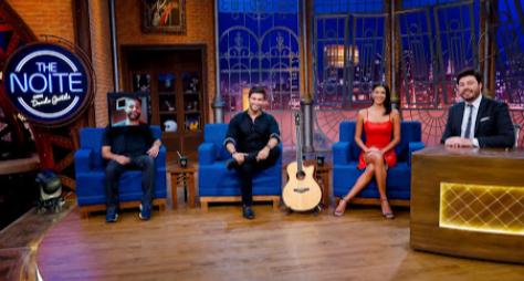 The Noite recebe Munhoz, Mariano e Jakelyne Oliveira