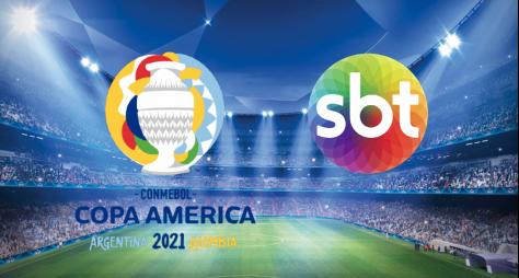 SBT, com Copa América, pegou a TV Globo de surpresa