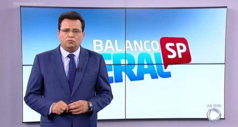 """Com Geraldo Luís, """"Balanço Geral SP"""" empata com """"Primeiro Impacto"""" (SBT)"""