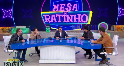 Programa do Ratinho estreia quadro com mesa de convidados