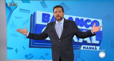 """Em 3º lugar com """"Balanço Geral Manhã"""", Geraldo Luís acredita em virar o jogo"""