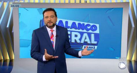 """Geraldo Luís sugere quadro de fofoca no """"Balanço Geral Manhã"""""""