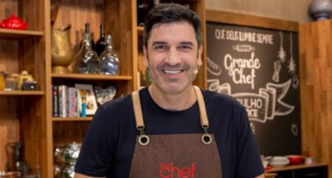 """""""Vou te Contar"""" e """"The Chef com Edu Guedes"""" disputam por traço de audiência"""