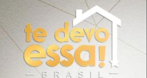 """Luciana Gimenez grava participação especial no """"Te Devo Essa Brasil"""", do SBT"""